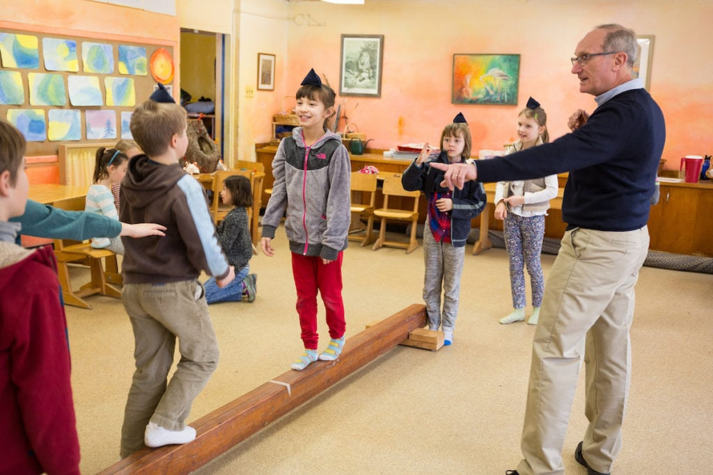 Teaching the Whole Child Waldorf Schools and Exemplary Teacher