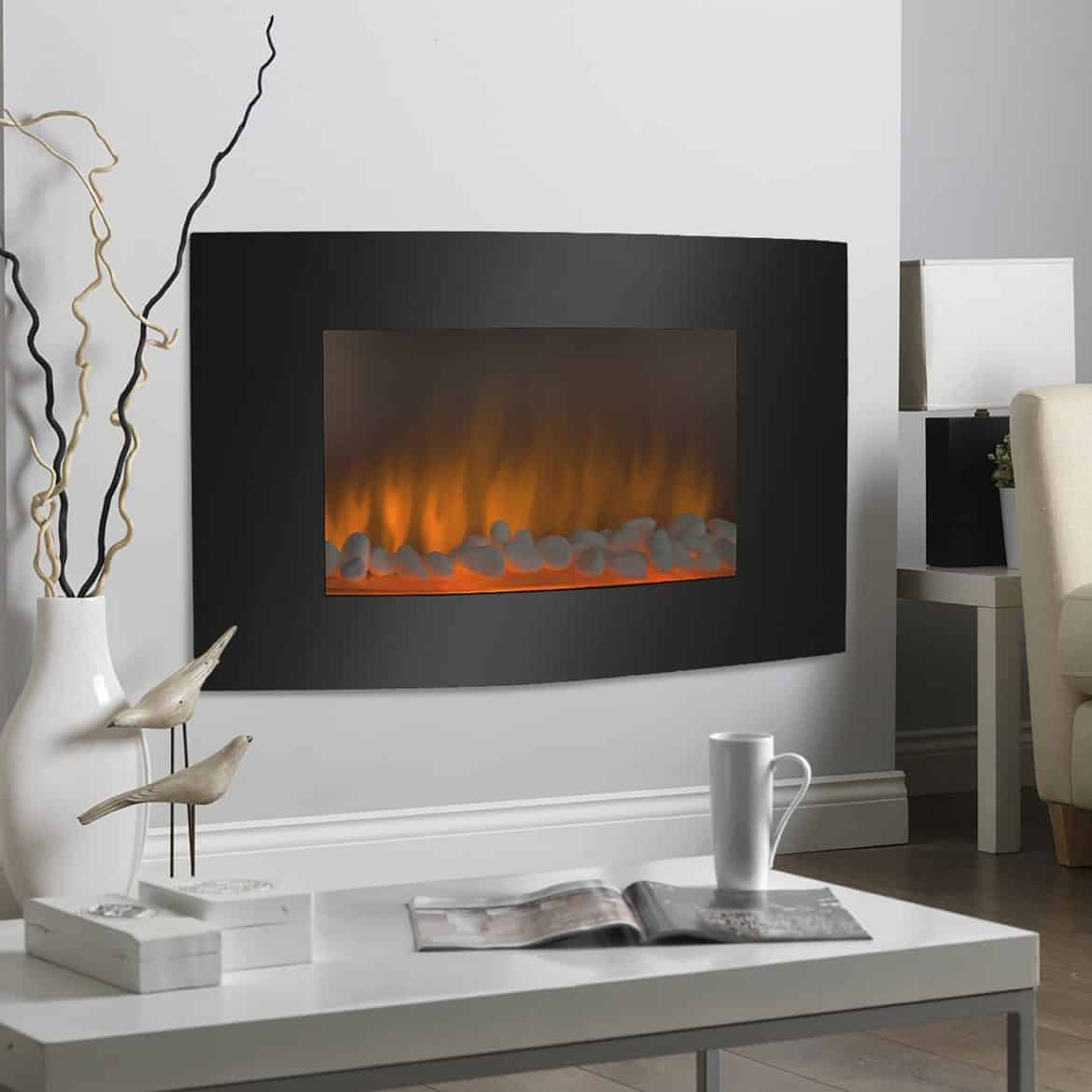 Modern Fireplace Insert Pros Cons Modern Electric Fireplaces Vs Ethanol Fireplace