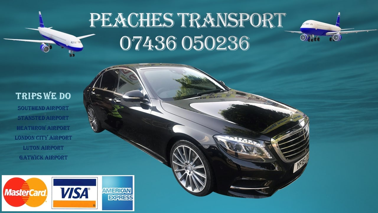 Stansted Car Village Shuttle Basildon Transfers To Heathrow Airport Peaches Transport