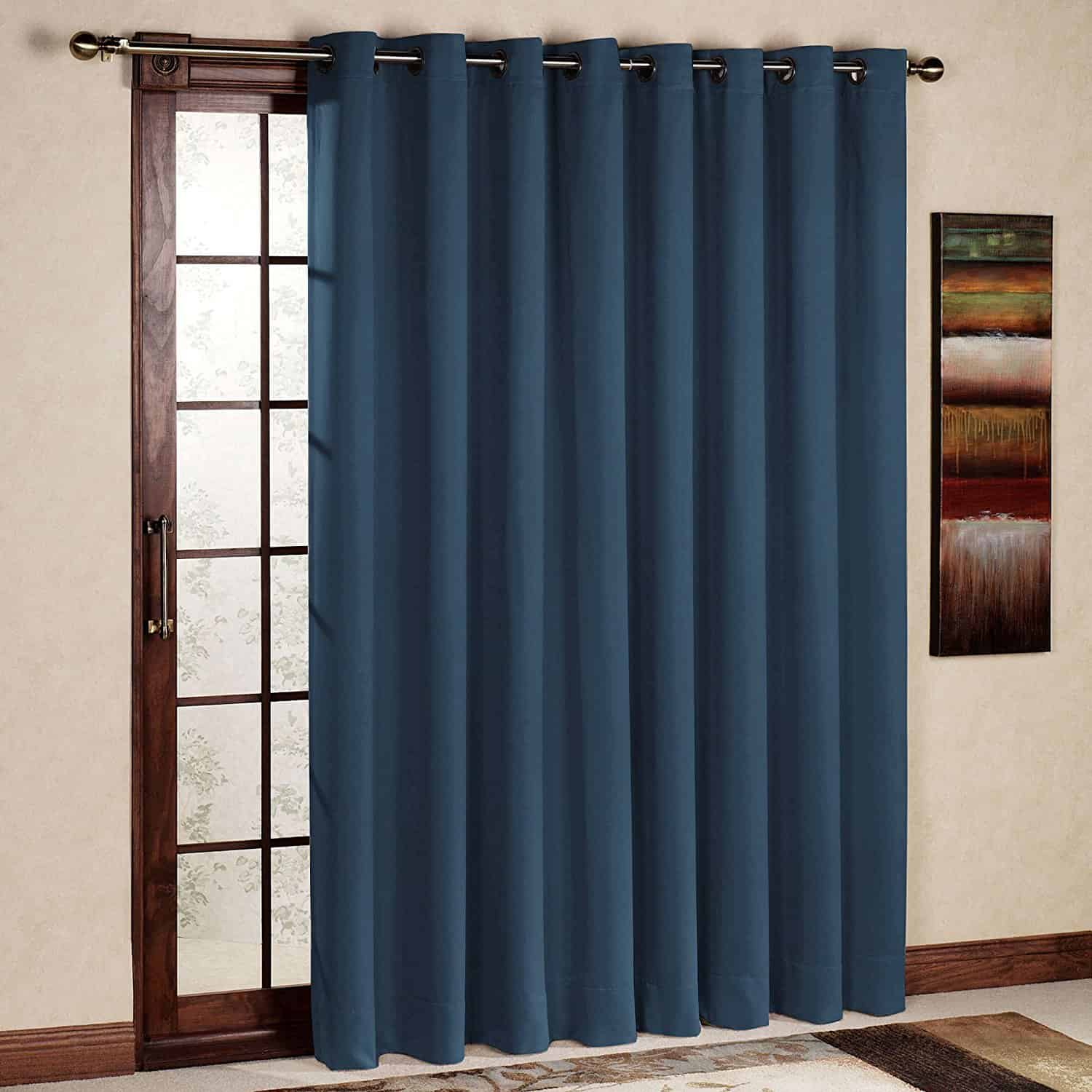Kitchen Door Curtains Window Treatments For Sliding Glass Doors Ideas Tips