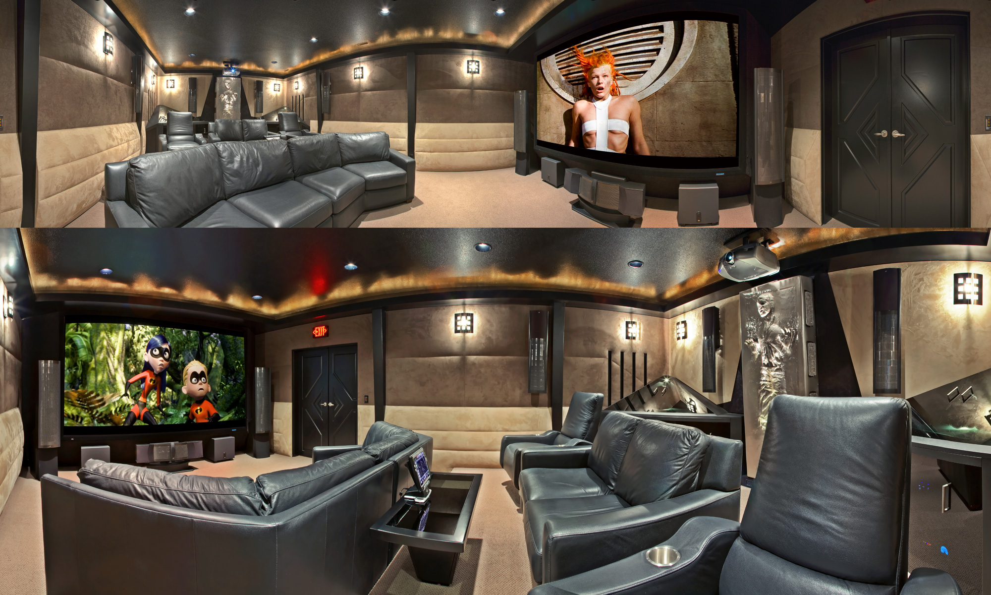 Home Theater Room Home Theater Room Design K W Audio
