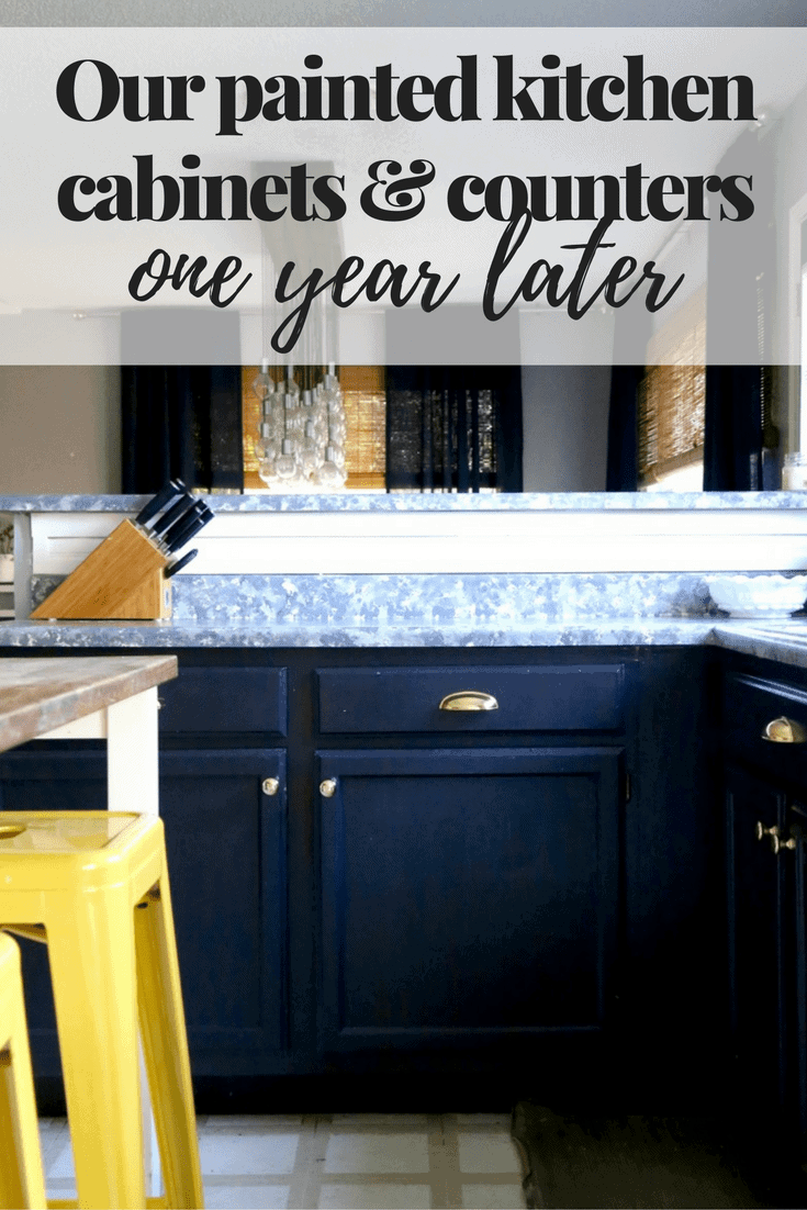 Kitchen Countertop Cabinets Painting Laminate Countertops Should You Try It Love Renovations