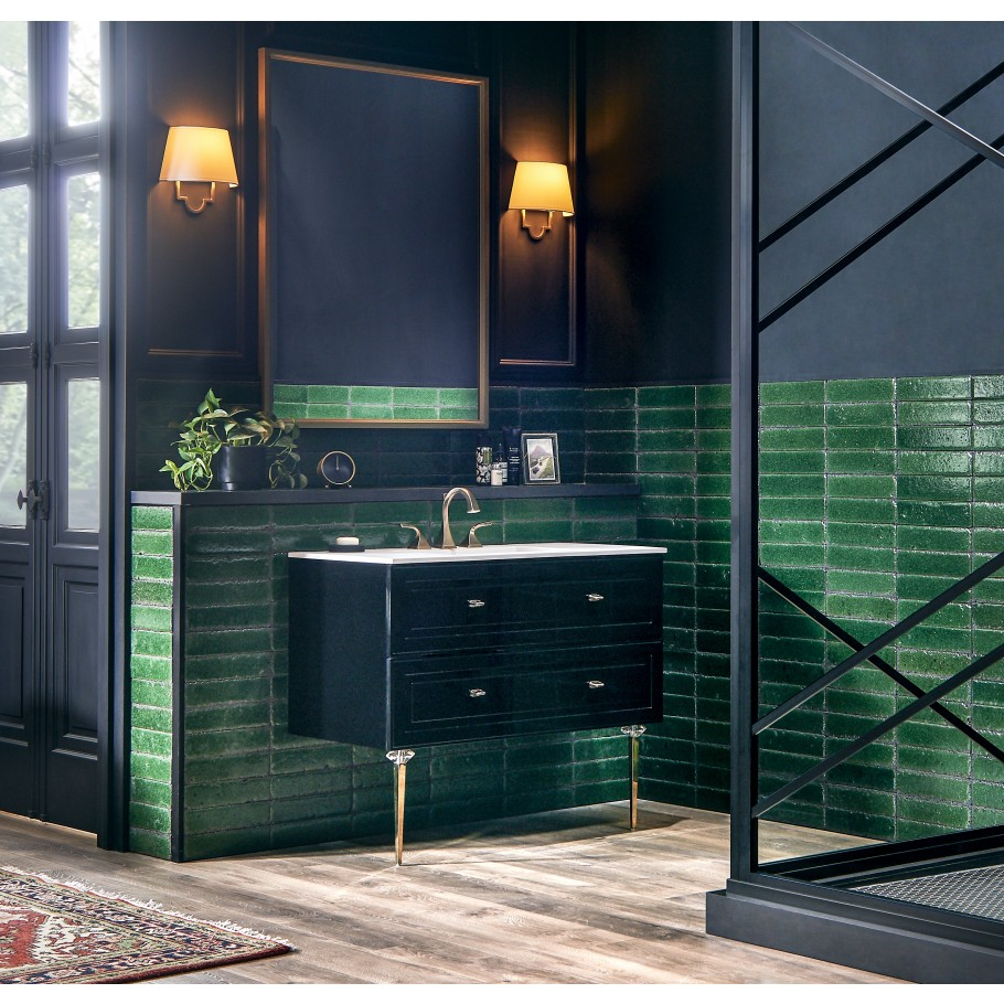 Green Tile Ideas Trends Subway Marble Dark Green More