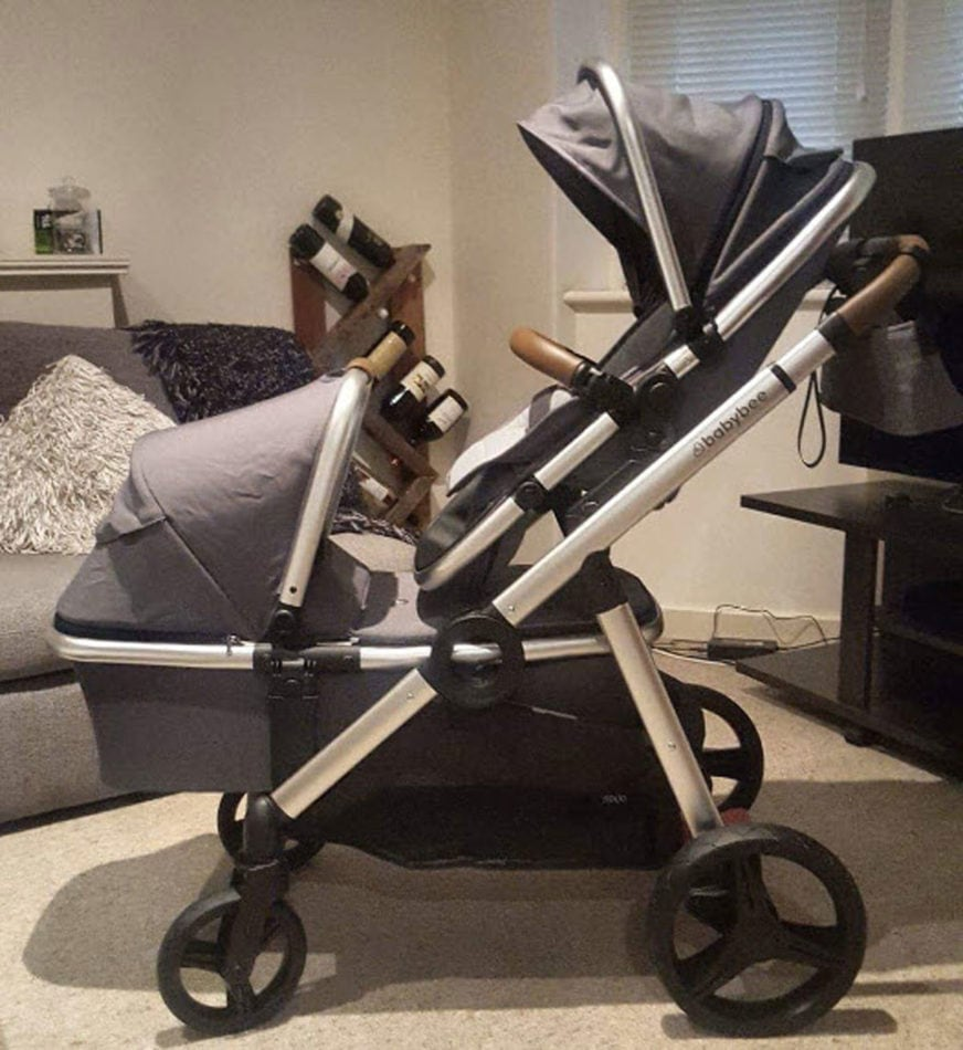 Double Pram Australia Reviews Babybee Prams Babybee Duo Parent Pram Review Parenting