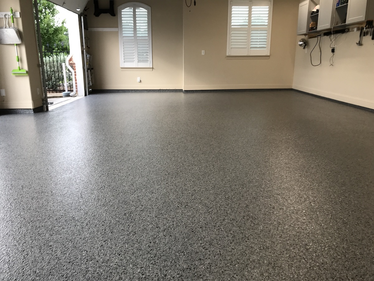 Epoxy Floor Coating Installtion And Garage Floor Installation Services