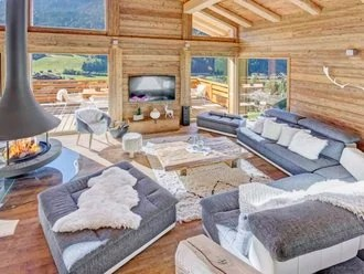 Canapé Style Chalet Home Decor How To Create A Cosy Mountain Style With The Fireplaces