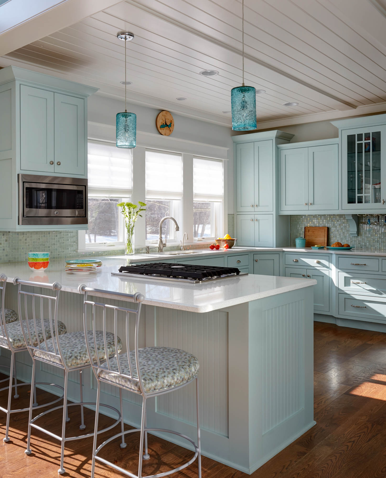 Sherwin-williams Countertop Paint View This Custom Color Painted Kitchen Showplace Cabinetry