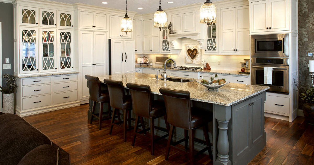 Different Kitchen Islands Islands & End Caps | Showplace Cabinetry