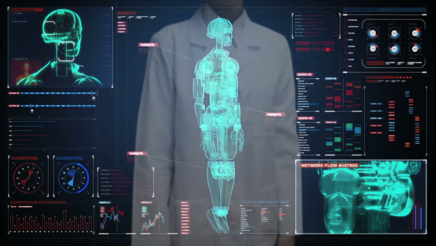 Skeleton Head Wallpaper 3d Human Body Scan With Skeleton Stock Footage Video 742651