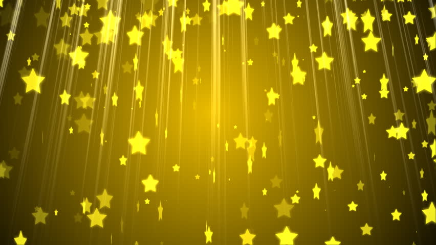Falling Stars Gif Wallpaper Hd Golden Stars Particles Animated Background Stock