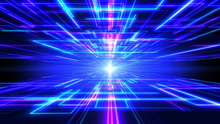 3d Modern Wallpaper Designs Blue Vj Style Particle Epic Looping Animated Background