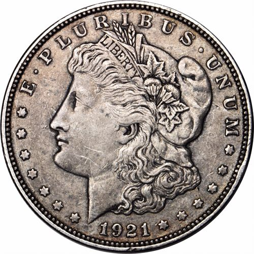 Buy 1921 Morgan Silver Dollars (VG+) - Silver