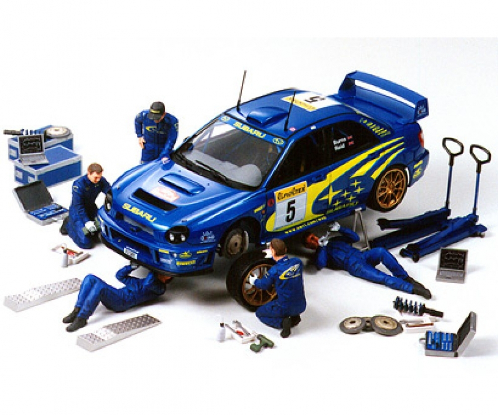 Figuren Shop 24 1 24 Figure Set Rally Mechanics 5 W A