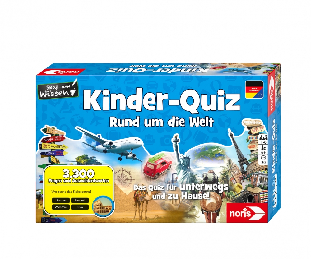 Kinder Aufwärmspiele Kids Quiz Around The World