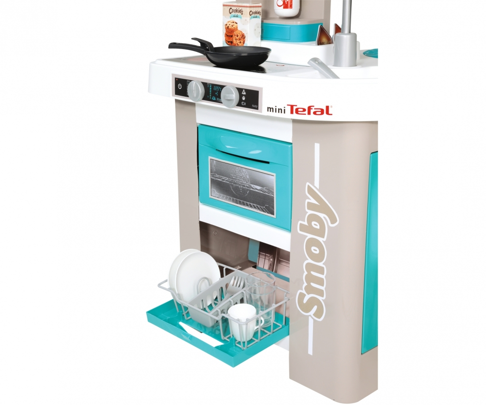 Smoby Tefal French Touch Bubble Küche Mit Wasserfunktion Smoby Tefal Küche