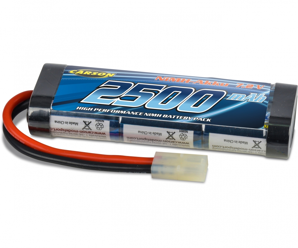 Accu Rechargeable Accu Racing Pack 7 2v 2500mah Nimh Rechargeable Batteries