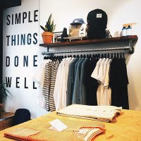 DIY Wall Mounted Clothing Rack with Top Shelf | Simplified ...