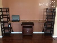 Wall Mounted Desks - Great For Small Spaces! | Simplified ...