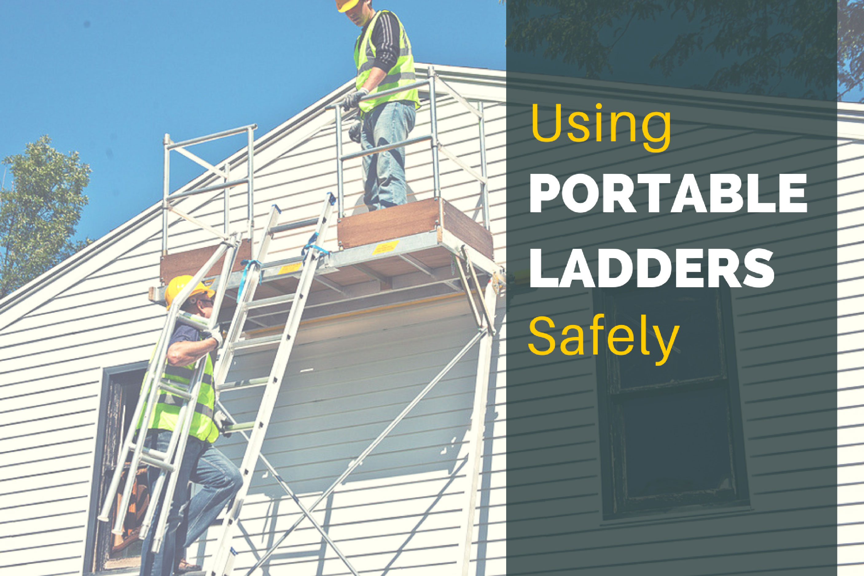 Using Portable Ladders Safely Fall Protection Blog