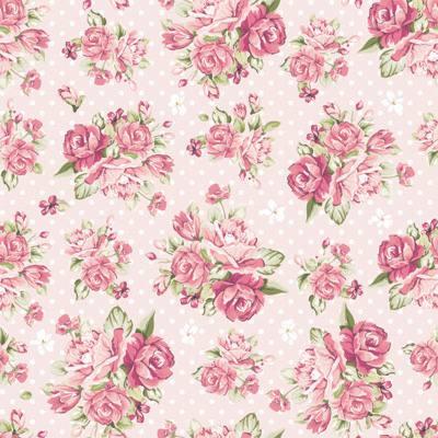 Wallpaper Paris Pink Cute Papel De Parede Floral Com Rosas E Fundo Rosa Claro