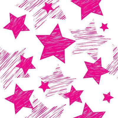 Natal Wallpaper 3d Papel De Parede Estrelas Rosas Para Quarto Meninas