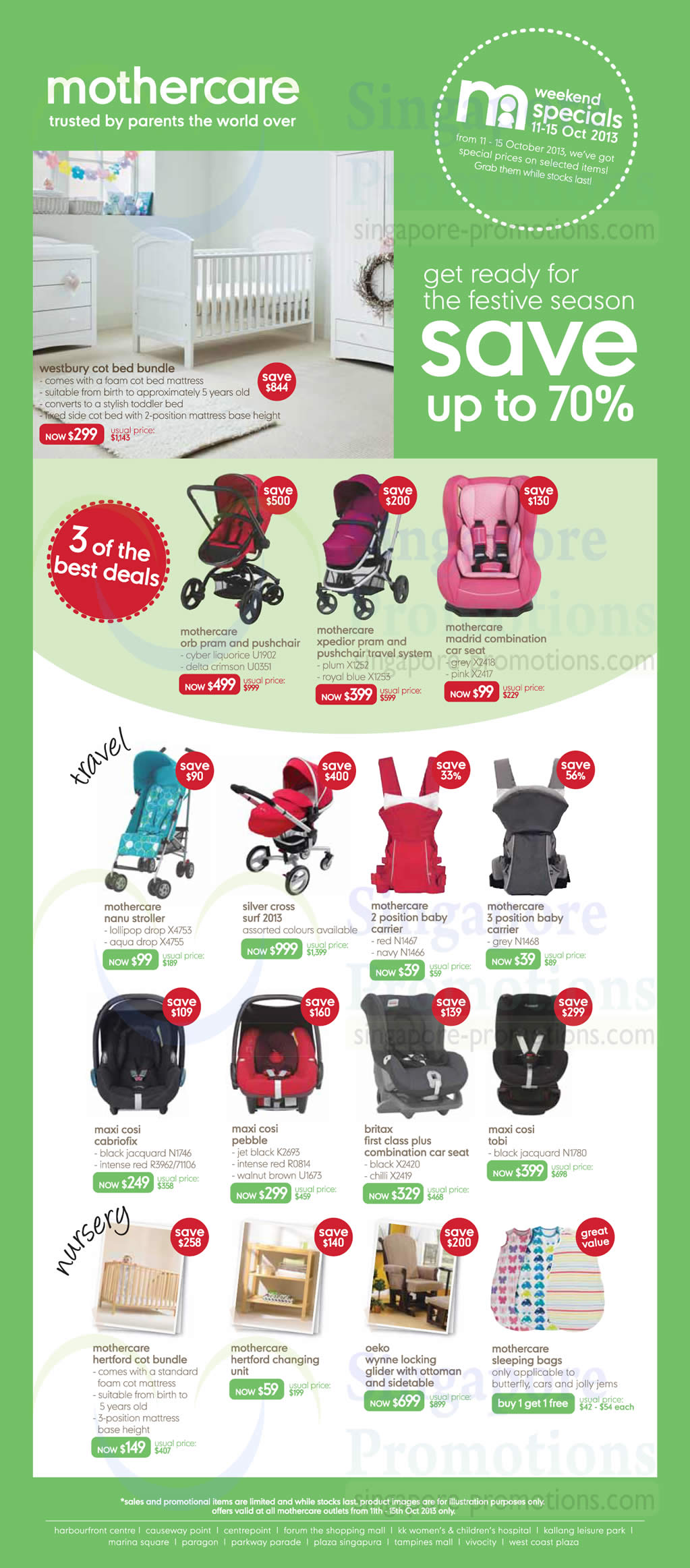 Maxi Cosi Car Seat On Mothercare Xpedior Mothercare Up To 70 Off October Weekend Specials 11 15