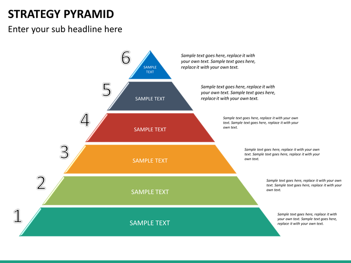 Share And Download Free Powerpoint Templates Slideteam Strategy Pyramid Powerpoint Template Sketchbubble