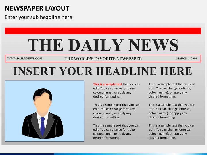 newspaper ppt template
