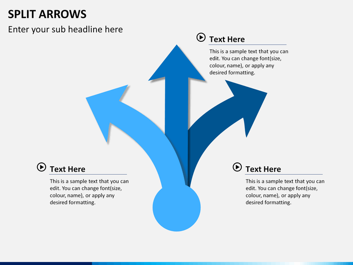 powerpoint arrows template
