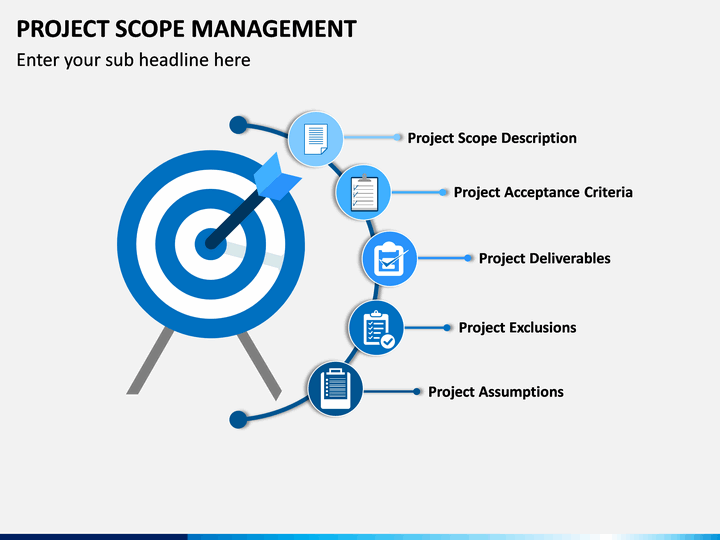 project scope template free