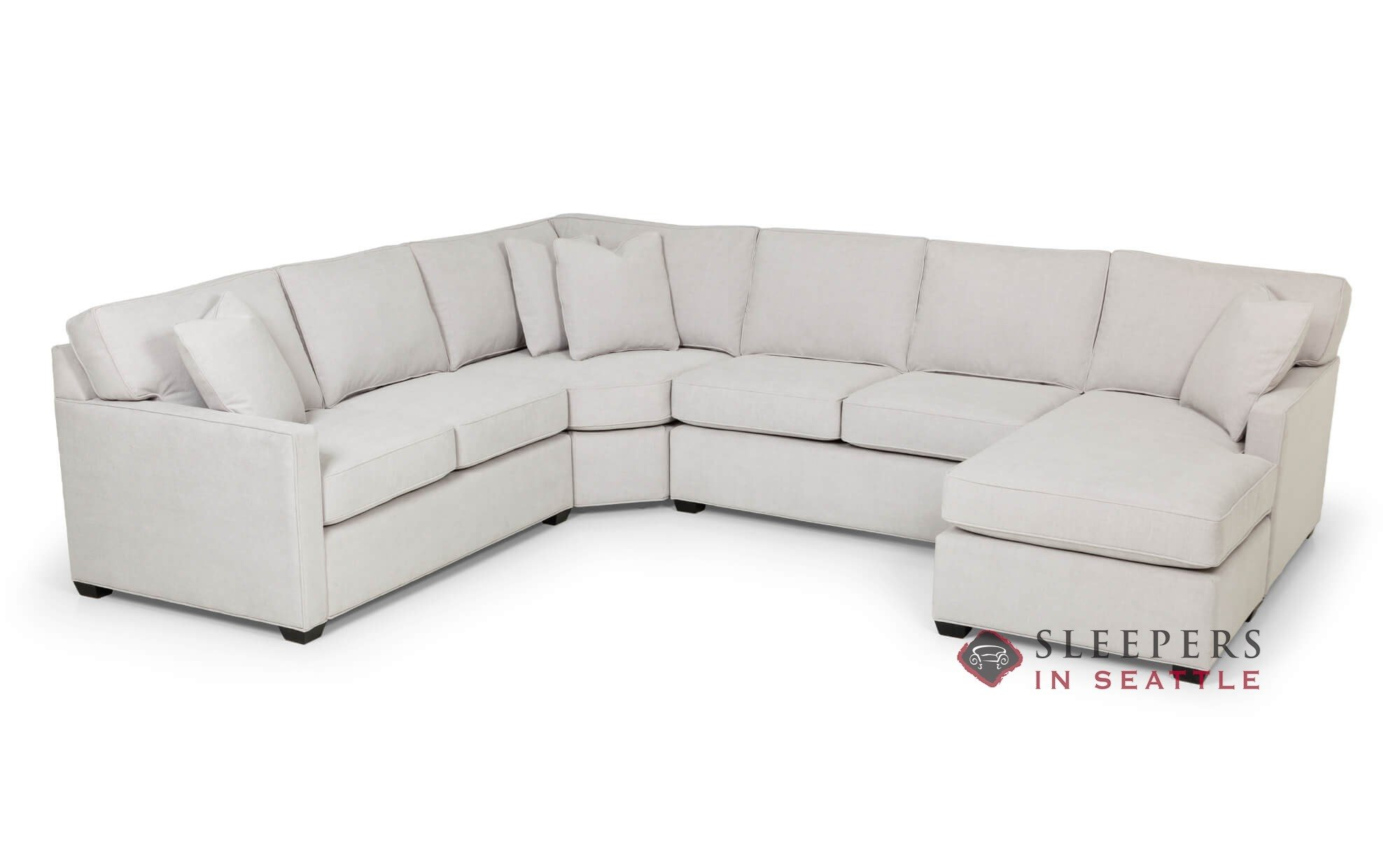 U Sofa The Stanton 387 U Shape Sectional Queen Sleeper Sofa