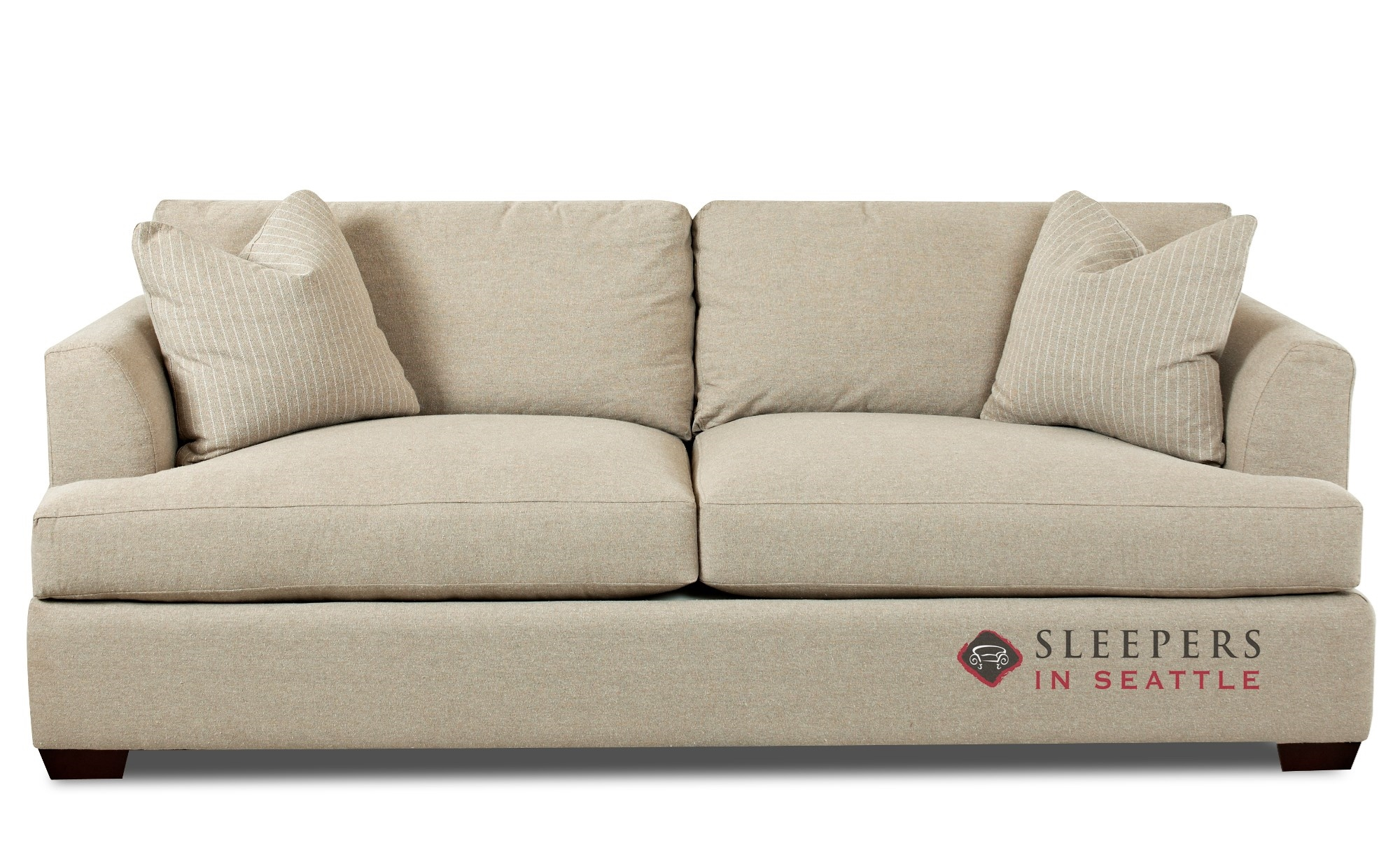 Sofa Repair Seattle Savvy Berkeley Queen Sleeper Sofa With Down Feather Seating
