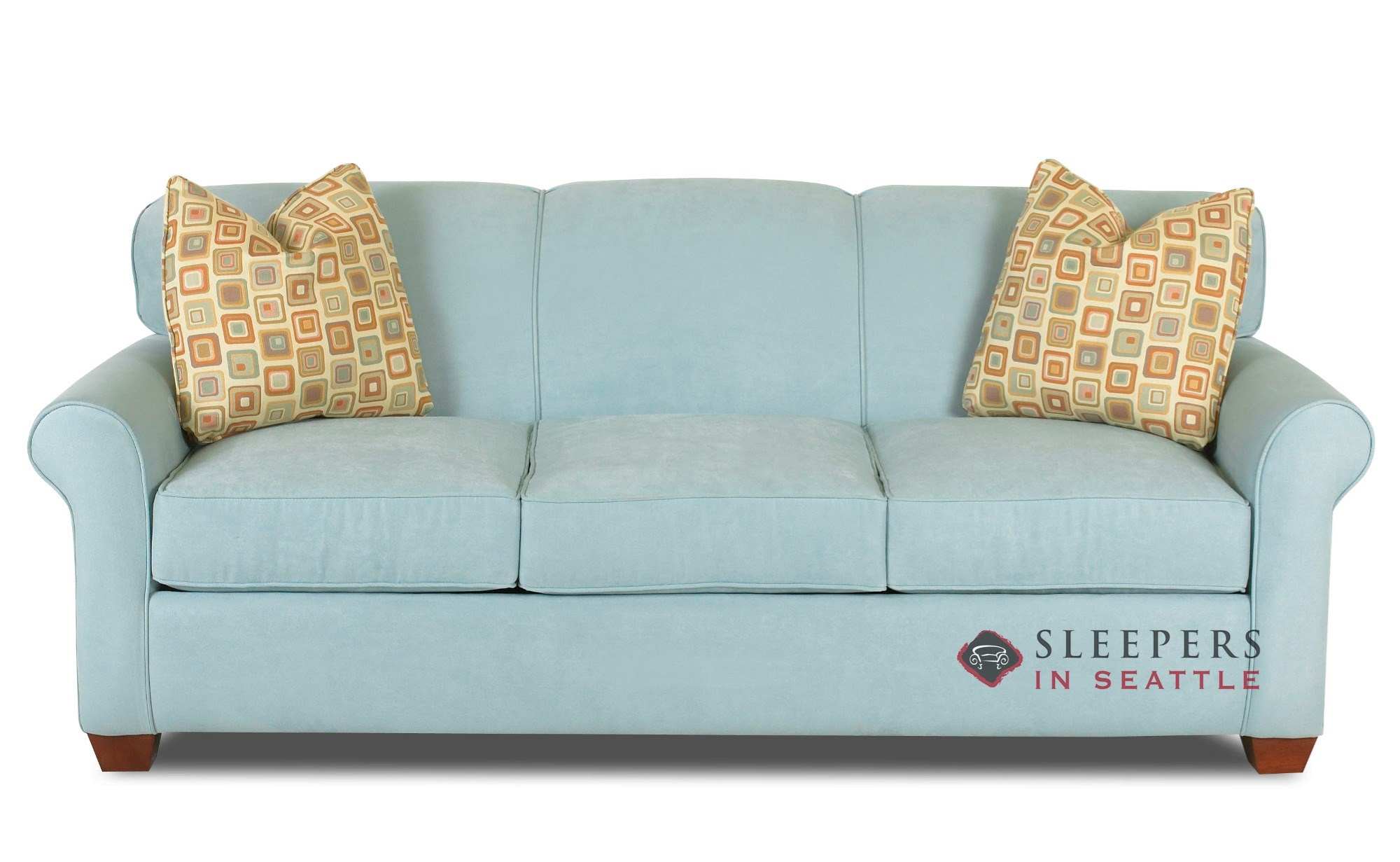 Couches Sleeper Savvy Calgary Queen Sleeper Sofa