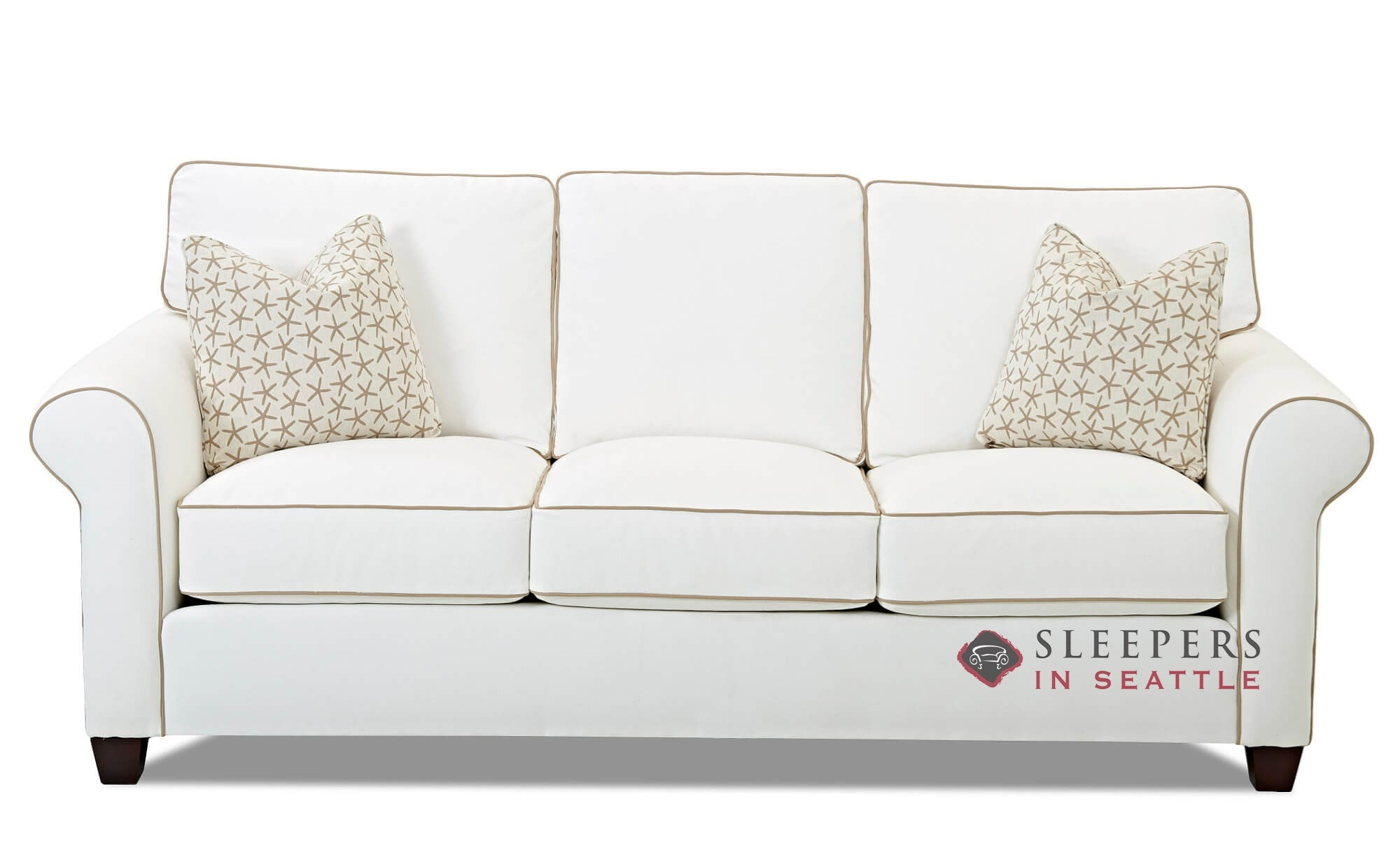 Sofa Queen Savvy Leeds Queen Sleeper Sofa