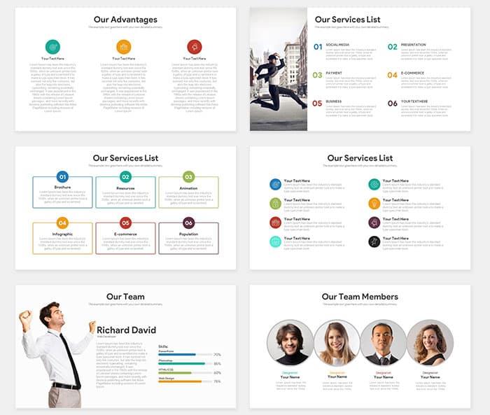 Startup Free Pitch Deck PowerPoint Template - SlideCompass