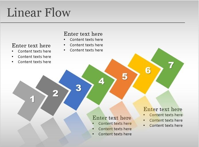 Free Flow Chart PowerPoint Templates - flowchart template