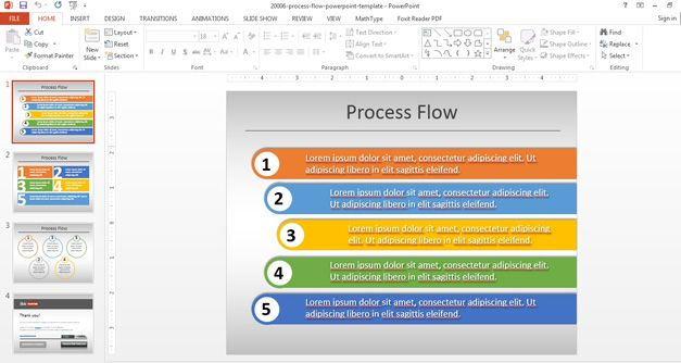 Process Flow Diagram Template Ppt - Wiring Diagram \u2022