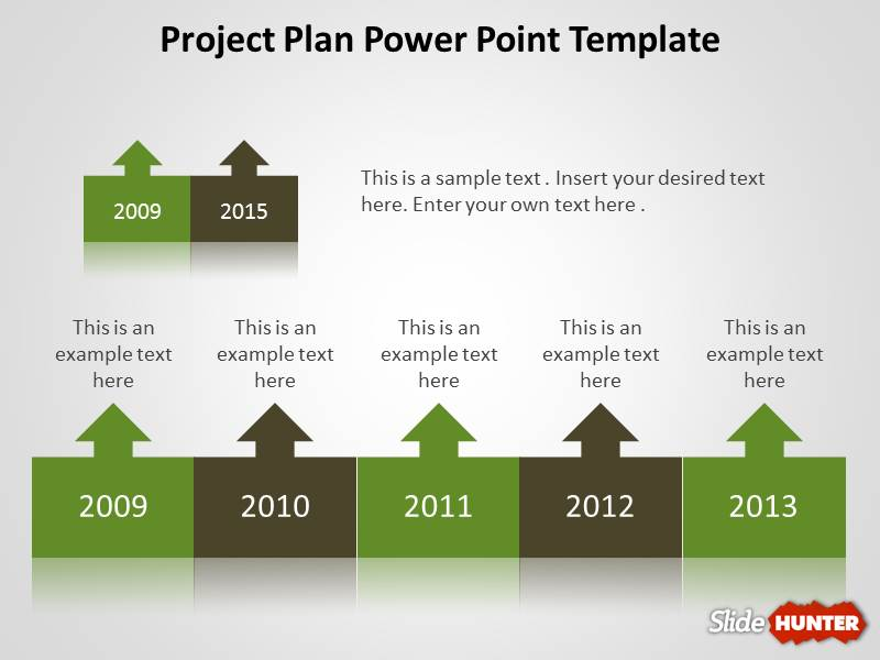 project task plan template - project plan ppt template