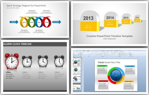 Best Free And Premium PowerPoint Timeline Templates - powerpoint timeline