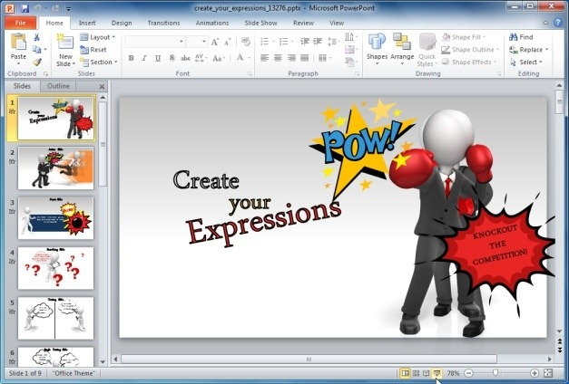 Generate Custom PowerPoint Graphics With Custom Expressions Template
