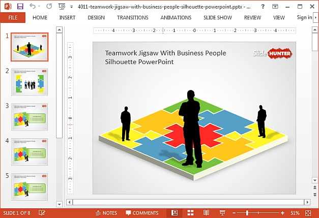 Free powerpoint jigsaw puzzle template bellacoola powerpoint template jigsaw puzzle free gallery powerpoint powerpoints templates toneelgroepblik Image collections