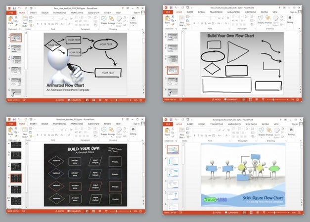 Best Flowchart Templates For PowerPoint