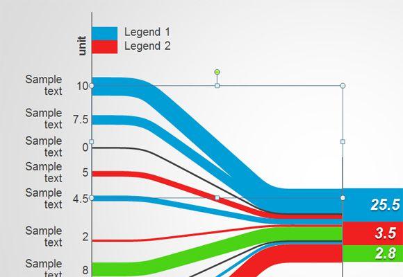 Free Sankey Diagram for PowerPoint