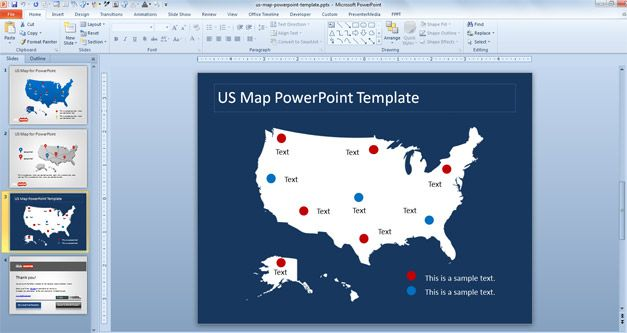 us map image for powerpoint us map powerpoint template usa map - us map ppt template