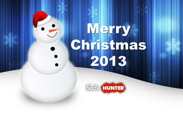 christmas background powerpoint