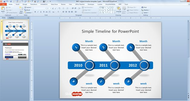 Free Roadmap PowerPoint templates - roadmap powerpoint template