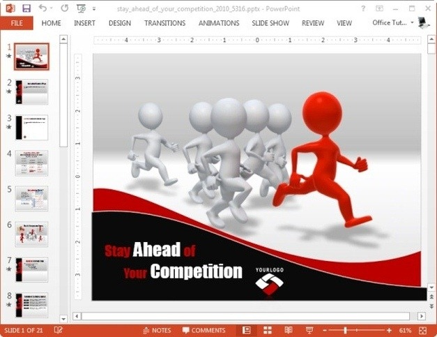 Competition Templates For PowerPoint And Keynote