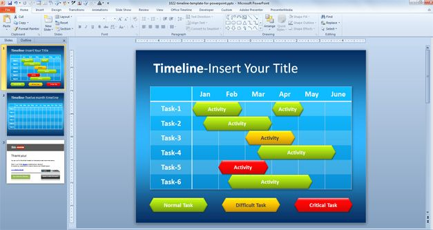 Free Simple Timeline Template for PowerPoint - Free PowerPoint - sample powerpoint timeline