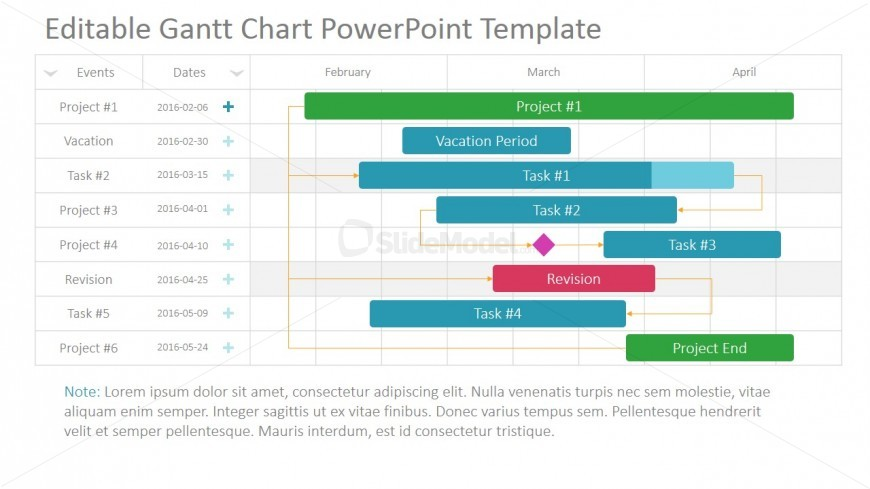 PowerPoint Timeline for Projects - SlideModel