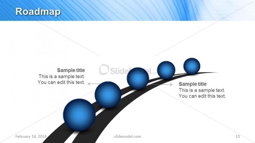 Roadmap Slide Design Template for PowerPoint - SlideModel